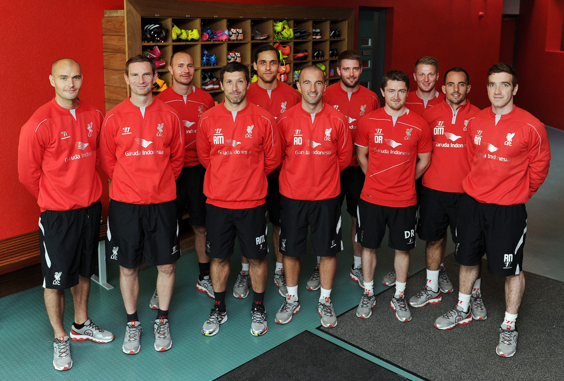 From left James Morton, Barry Drust, Jordan Milsom, Ryland Morgans, Tom Brownlee, Andy O'Boyle, Patrick Orme, Dave Rydings, Liam Anderson, Olly Morgan and Rob Naughton